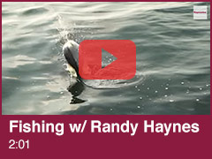 Fishing with Randy Haynes Video
