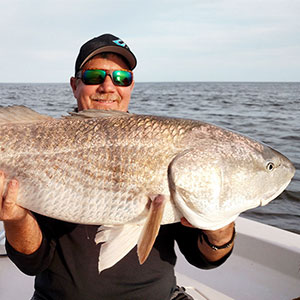 Catching Redfish in Eastern Florida