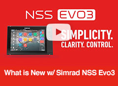 What is New with Simrad NSS Evo3