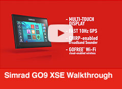 Simrad GO9 XSE Walkthrough