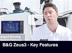 B&G Zeus3 - Key Features