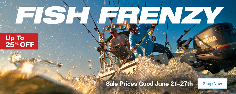 Fish Frenzy - Up to 25% OFF - Sale Prices Good June 21–27th - Shop Now