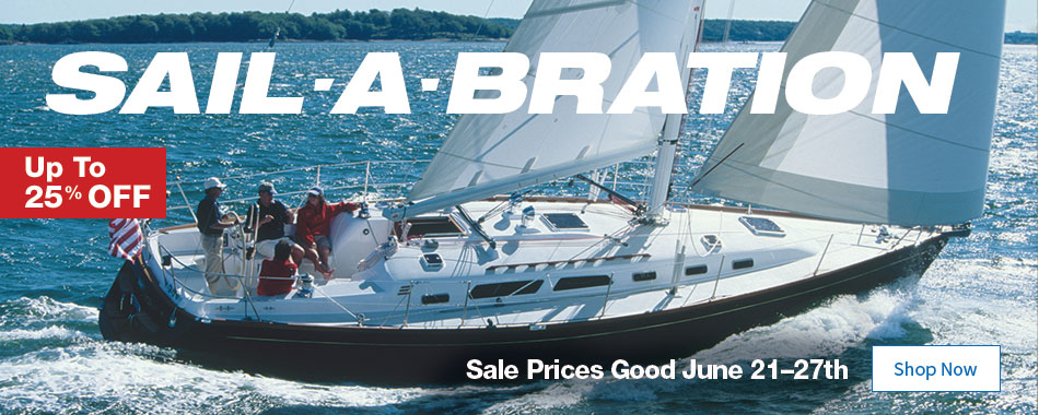 Sail-A-Bration - Up to 25% OFF - Sale Prices Good June 21–27th - Shop Now