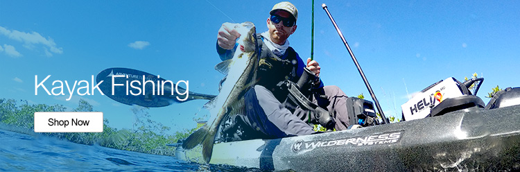 Kayak Fishing - Shop Now