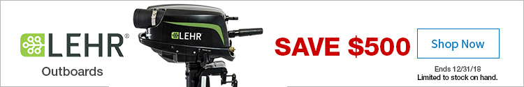 Lehr Outboard Save $500