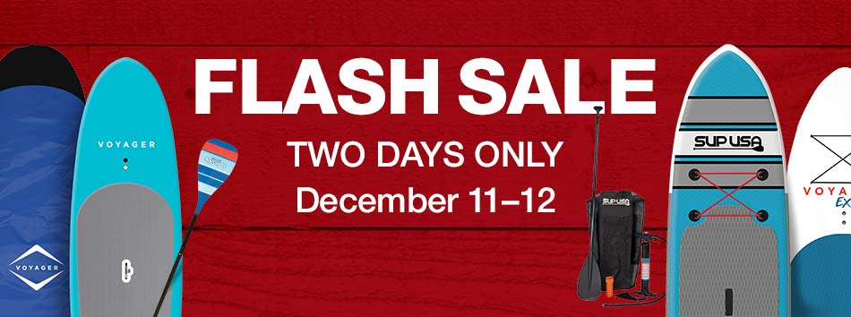 Flash Sale, Two Days Only, December 11 and 12