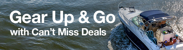Gear Up & Go with Can't Miss Deals