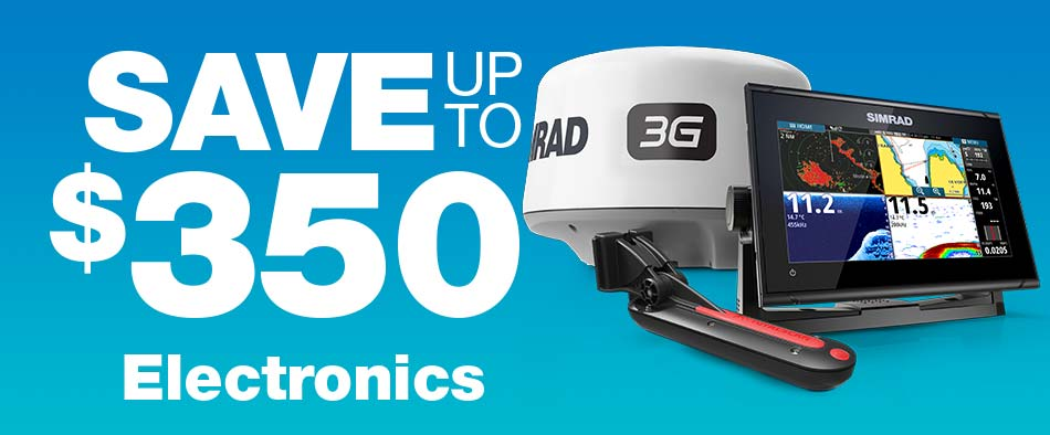 Save up to $350 on Electronics
