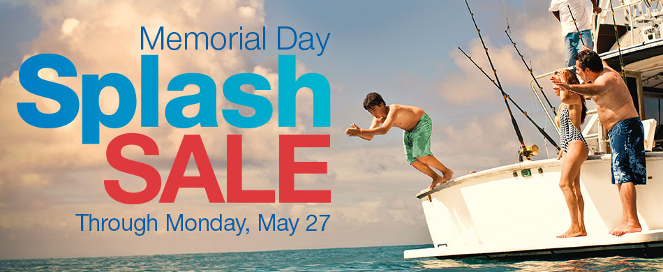 Memorial Day Splash Sale