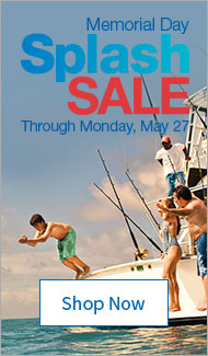 Memorial Day Splash Sale. Through Monday, May 27. Shop Now.