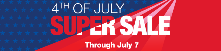 4th of July Super Sale Through July 7