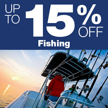 Up to 15% Off Fishing