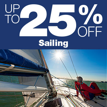 Up to 25% Off Sailing