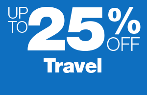 Up to 25% Off Travel