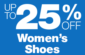 Up to 25% Off Women's Shoes