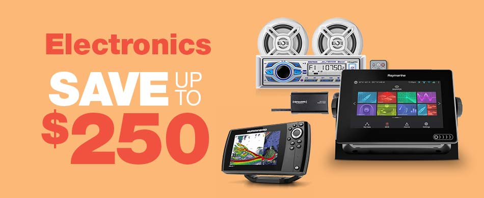 Save up to $250 on Electronics