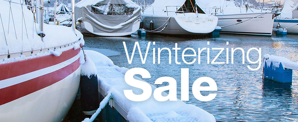 Winterizing Sale