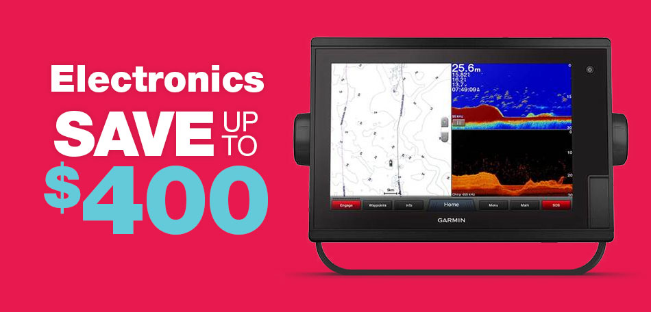 Save up to $400 on Electronics