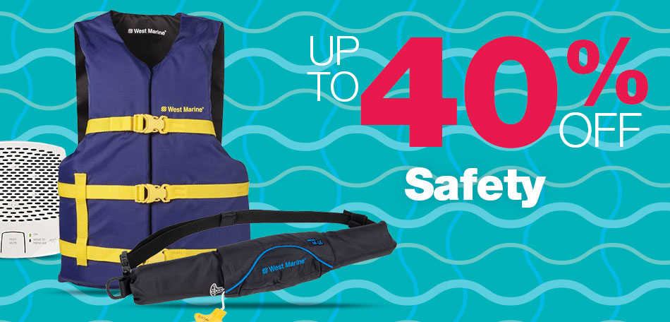 Up to 40% off Safety