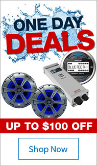 Save up to $100 on Stereos & Packs
