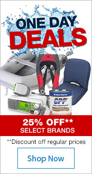 One Day Deals - 25% Off Select Brands - Shop Now