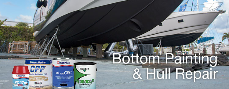 Bottom Painting & Hull Repair