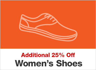 Additional 25% Off Women's Shoes