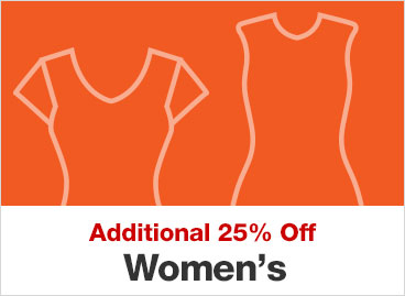 Additional 25% Off Women's
