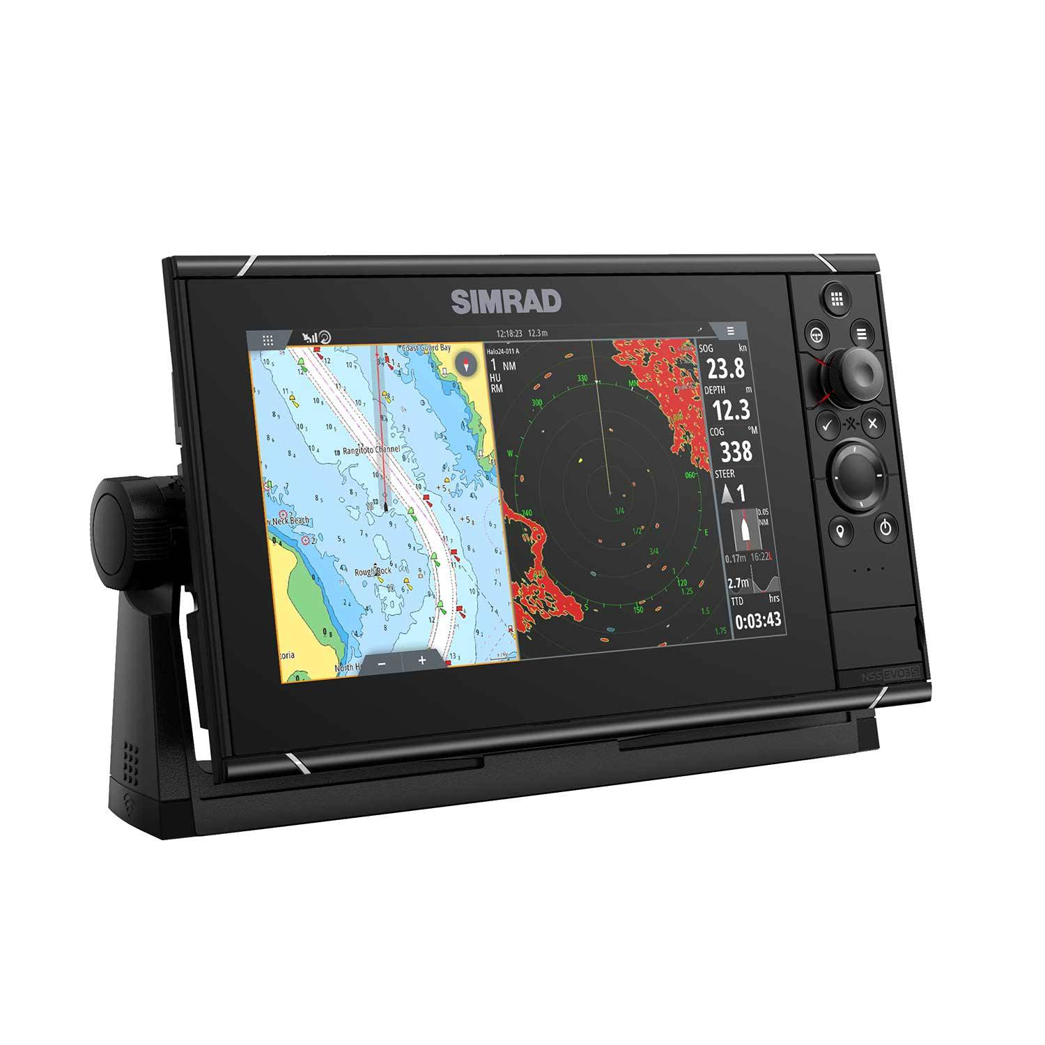 NSS9 Evo3 S Multifunction Display with C-MAP Charts, HALO 20+ Bundle