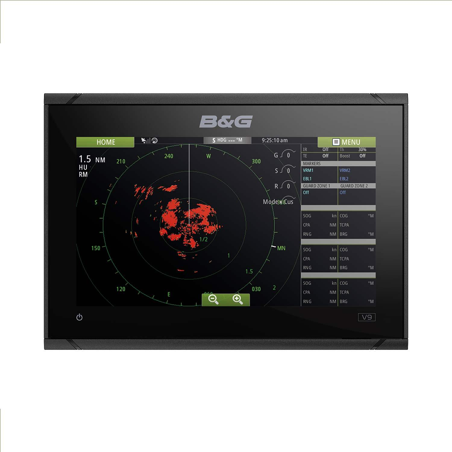 Vulcan 9 FS Chartplotter with US C-MAP MAX-N Charts