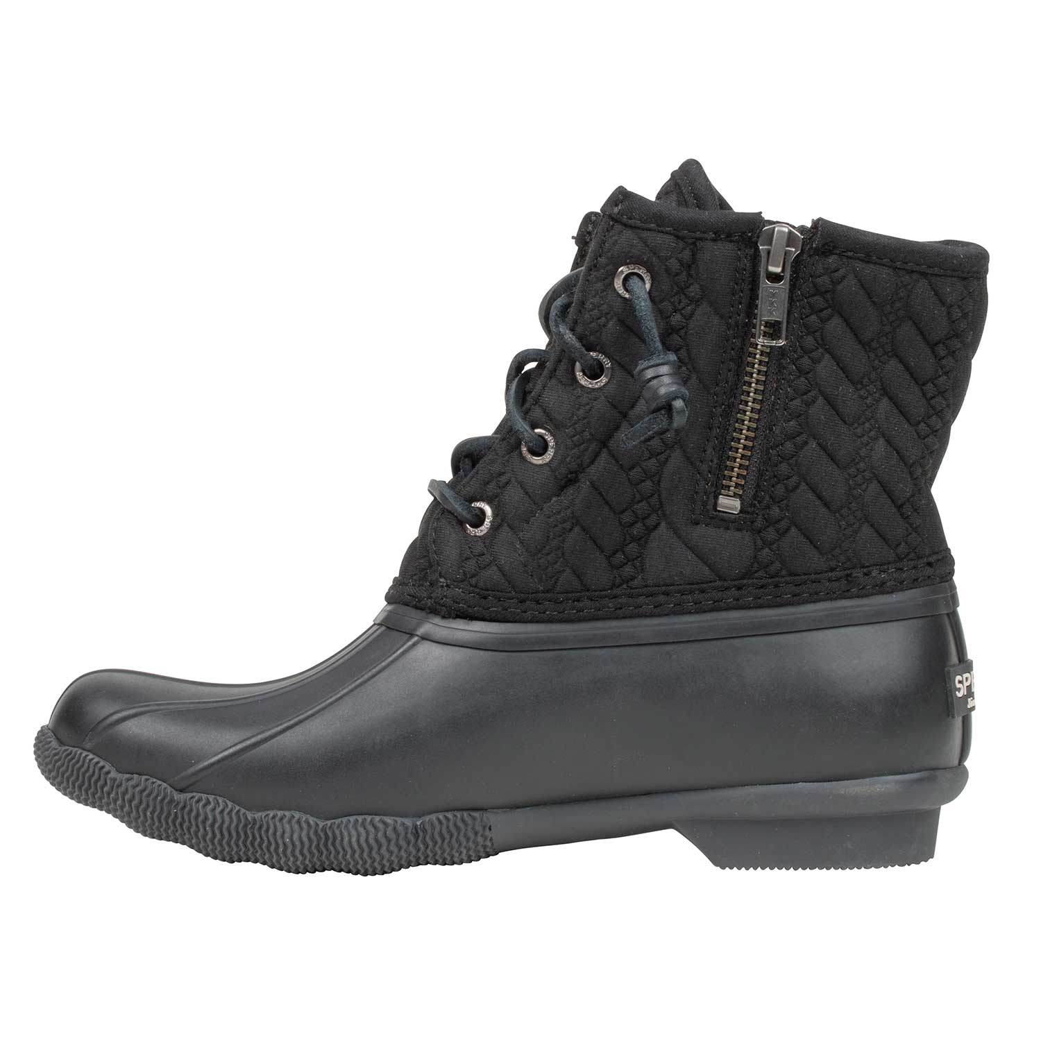 Saltwater Rope Embossed Duck Boots