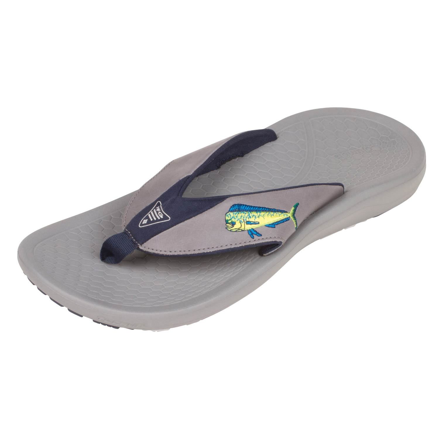 0388768607f COLUMBIA Men s Fish Flip™ PFG Flip-Flop Sandals