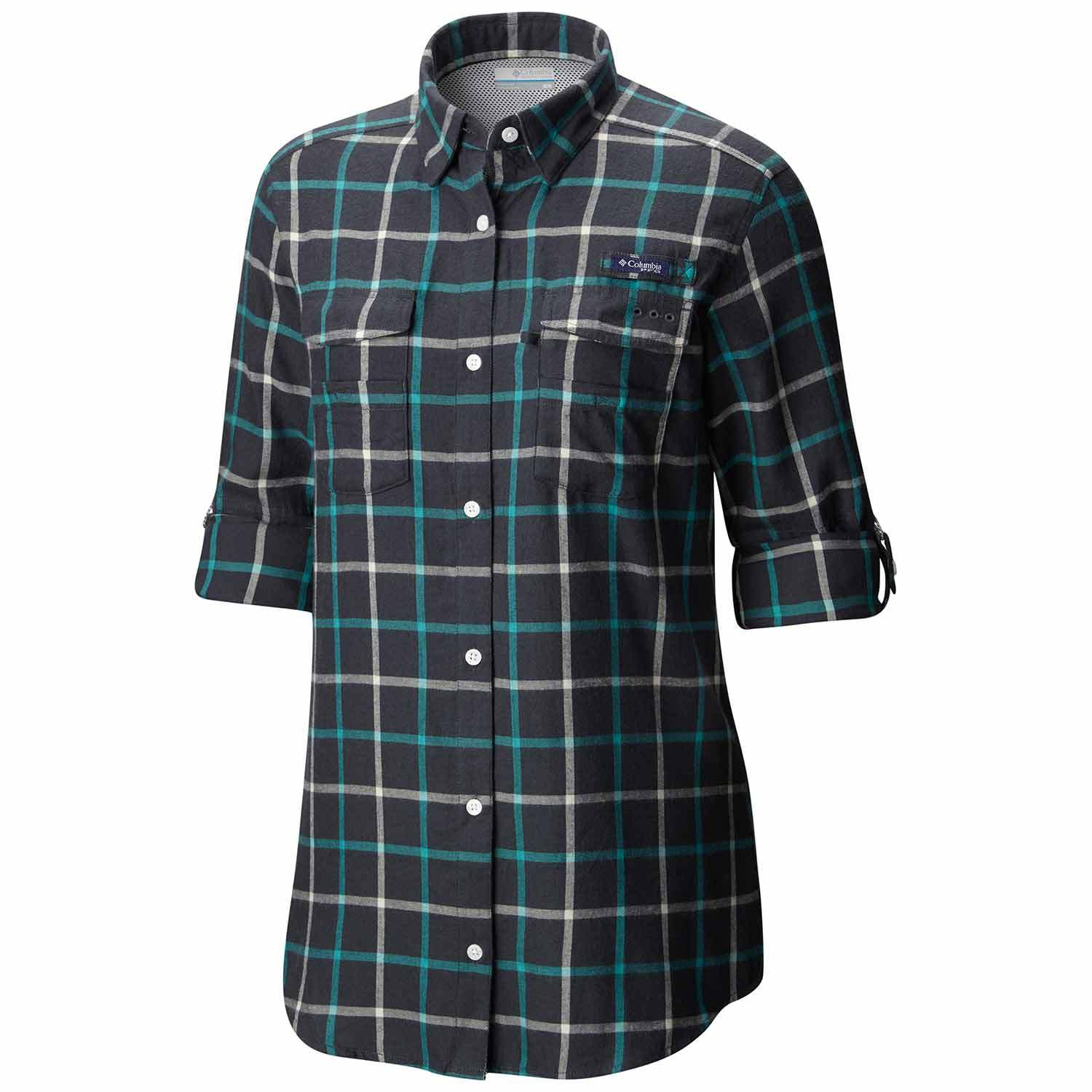 a6c4c0e8b9f Clearance Women's PFG Bonehead™ Flannel Shirt Enlarged view of picture,  opens dialog