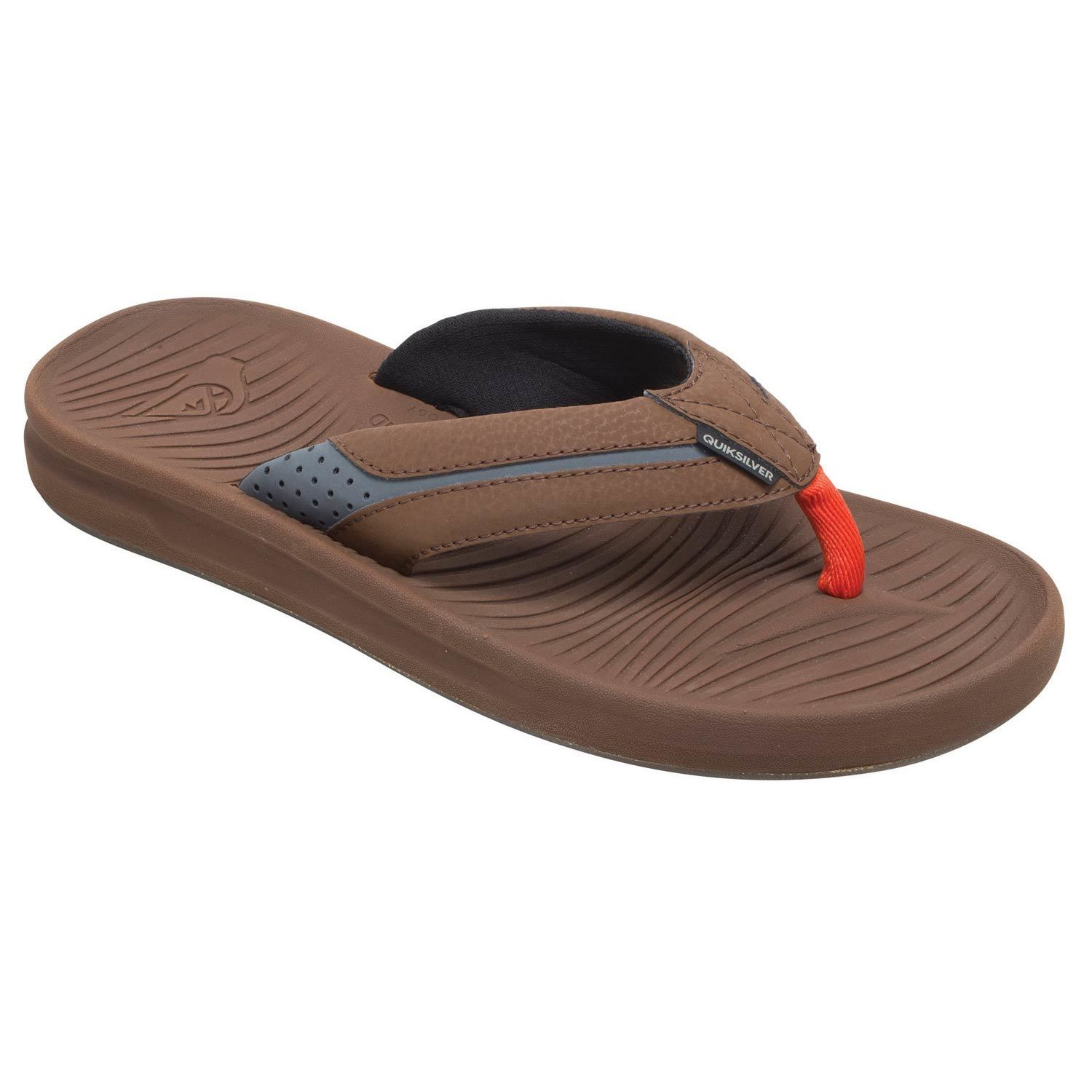 a4c98745d80d QUIKSILVER Men s Travel Oasis Flip-Flop Sandals