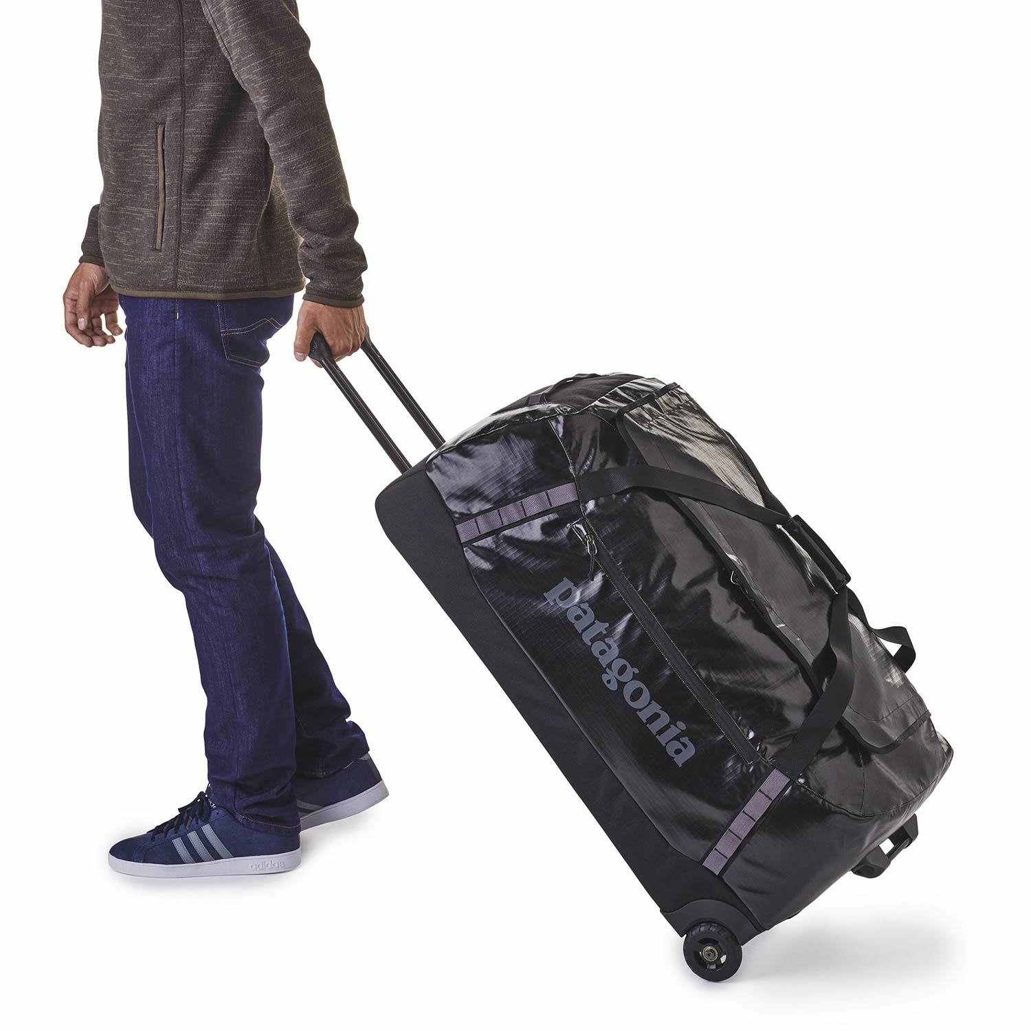 a9d6e351fecf 120L Black Hole Wheeled Duffel Bag Enlarged view of picture