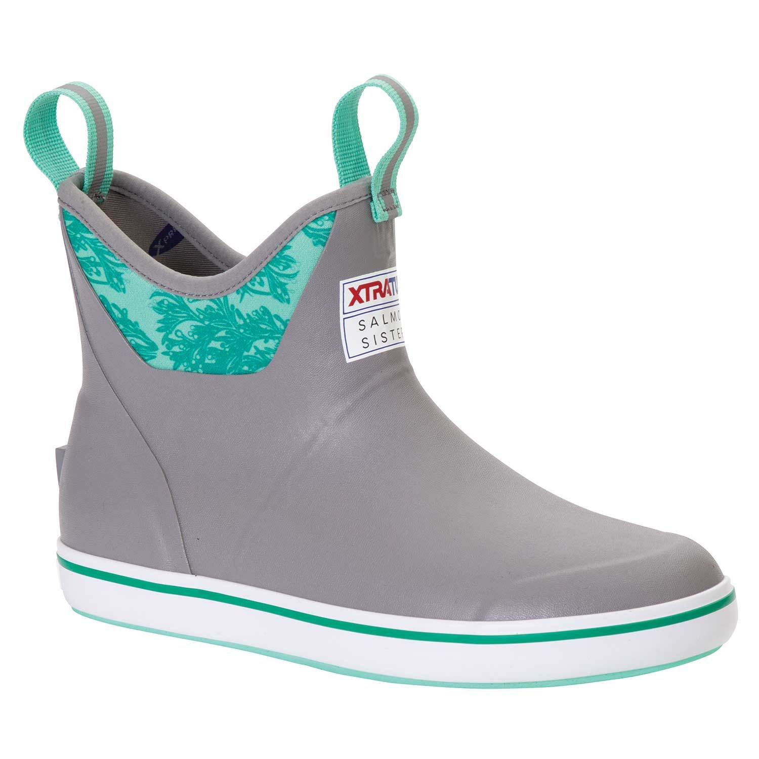 Salmon Sisters Ankle Deck Boots