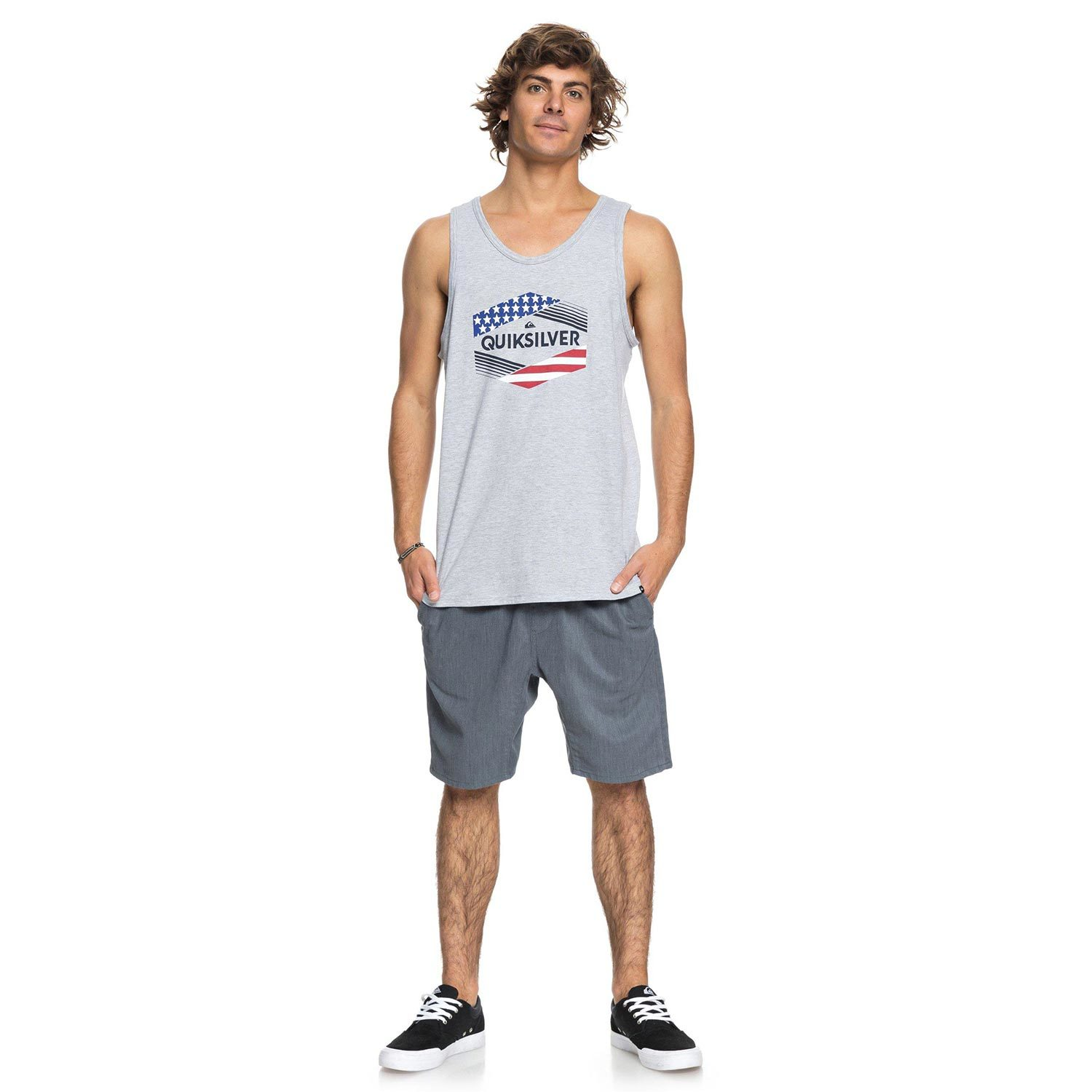 6cf242b0dbbdc QUIKSILVER Men s Stars   Stripes Tank Top