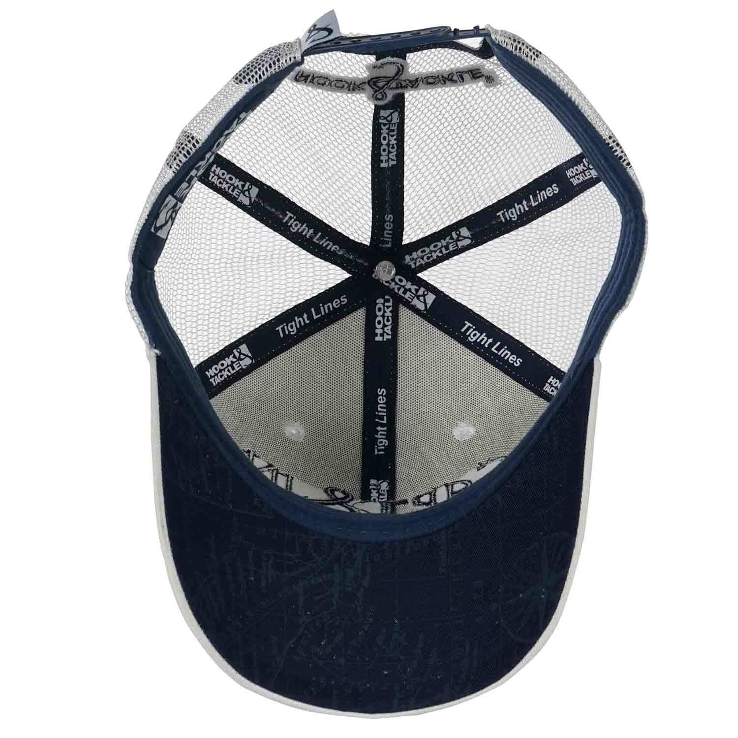 52ee4d18a9bb0 HOOK   TACKLE Sea Captain Fishing Trucker Hat