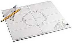 Celestaire 50-Page Plotting Sheet Pad