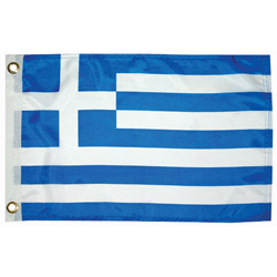 "Greece Courtesy Flag, 12"" x 18"""