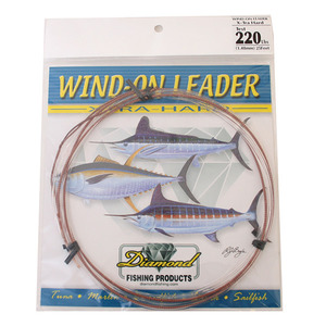 Wind-On Leader X-Hard, 220Lb, 25', Clear White