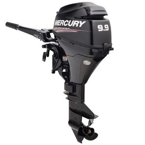 "9.9hp Electric Start 4-Stroke Outboard, 20"" Shaft Length"