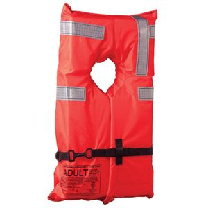 Type I Commercial Life Jacket, Adult Over 90lb.