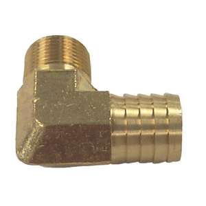90° Fuel System Connector with Hose Barb for Mercruiser Stern Drives