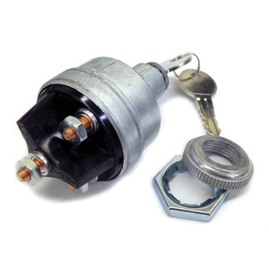 4-Position Ignition Switch, Accessory-Off-Run-Start