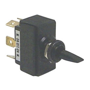 Toggle Switch, Mom On-Off-Mom On, DPDT