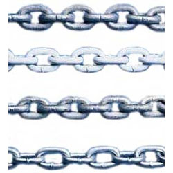 "1/4"" Proof Coil Chain, Inside Link Length: 1.000"", MWL: 1250lb., Breaking Strength: 5000lb., Weight: .64lb./ft., Standard Pack: 800'"