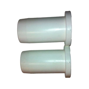 "Oar Collar Pair 1.75"" Shaft White Plastic"