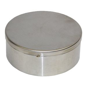 "3"" Stainless Steel Jam Jar Rain Lid"