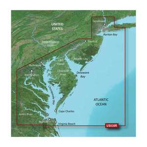 VUS038R New York to Chesepeake BlueChart g2 Vision Card